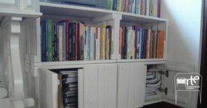 móveis de pallets armário
