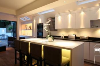 iluminação para móveis arte da marcenaria moderna