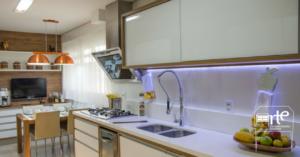 iluminação para móveis cozinha arte da marcenaria moderna