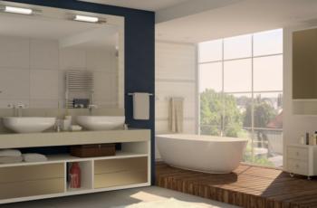 móveis projetados para banheiro