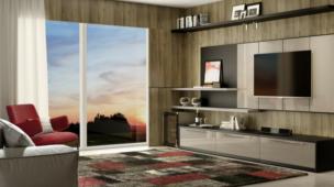 Móveis projetados para sala