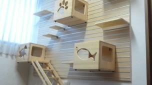 como fazer moveis para gatos