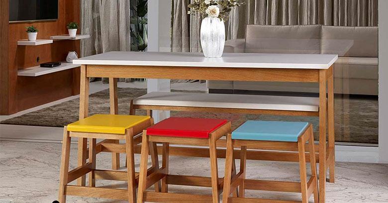 móveis decorativos de madeira arte da marcenaria moderna